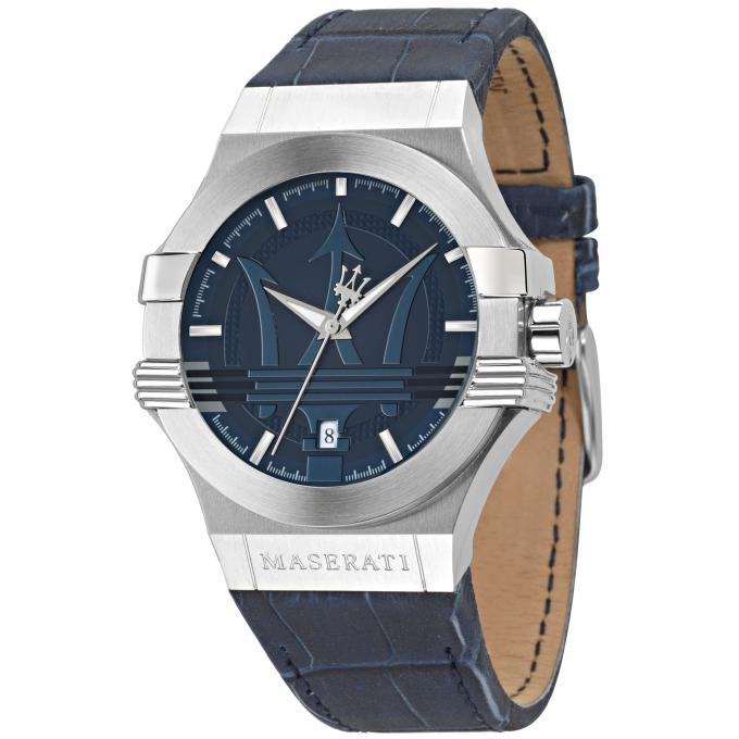 montre maserati potenza r8851108015 montre bleue crocodile homme sur bijourama montre homme. Black Bedroom Furniture Sets. Home Design Ideas