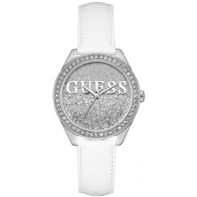 montre guess glitter girl w0823l1 montre paillettes argent es femme sur bijourama montre. Black Bedroom Furniture Sets. Home Design Ideas