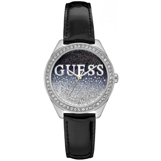 montre guess glitter girl w0823l2 montre paillettes bleues femme sur bijourama montre femme. Black Bedroom Furniture Sets. Home Design Ideas