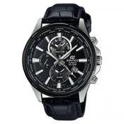 Montre Casio Edifice-Classic EFR-304BL-1AVUEF - Montre Cuir Crocodile Homme