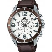 Montre Casio Marron Surpiquée EFR-553L-7BVUEF