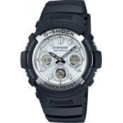 Montre Casio Solaire Blanche AWG-M100S-7AER - Homme