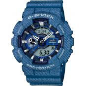 Casio - Montre Casio G-Shock G-Specials GA-110DC-2AER - Montre Bleue Homme