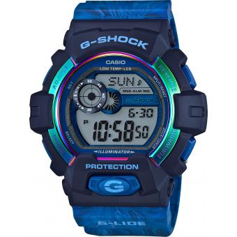 Montre Casio G-Shock G-Specials GLS-8900AR-2ER - Montre Bleue Chatoyante Homme