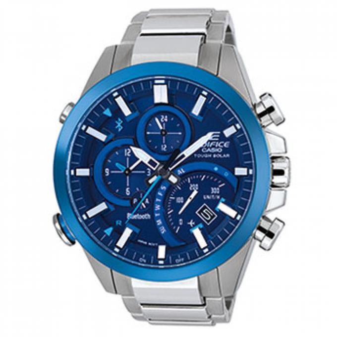64a18873133 Montre Casio Edifice EQB-500DB-2AER - Montre Acier Bluetooth Homme ...