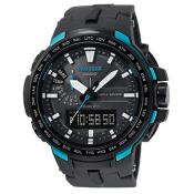 Casio - Montre Casio Pro Trek PRW-6100Y-1AER - Montre Radio Pilotée