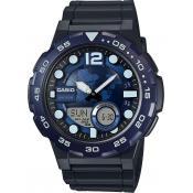 Montre Casio Fuseaux Bleus AEQ-100W-2AVEF