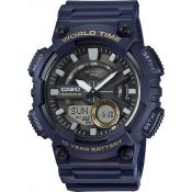 Casio - Montre Casio Collection AEQ-110W-2AVEF - Montre Bleue Homme