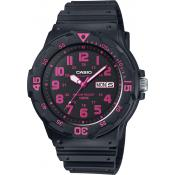Casio - Montre Casio Collection MRW-200H-4CVEF - Montre Noire Femme