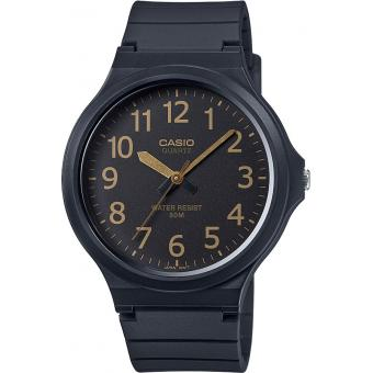 Montre Casio Collection MW-240-1B2VEF - Montre Noire ronde Homme