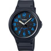 Montre Casio Collection MW-240-2BVEF - Montre Index Bleus Homme