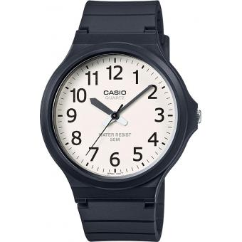 Montre Casio Collection MW-240-7BVEF - Montre Silicone unicolore Homme