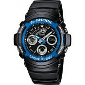 Montre Casio Alarme Chrono AW-591-2AER - Homme