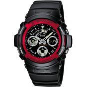 Montre Casio Alarme Chrono Dateur AW-591-4AER - Chronographe