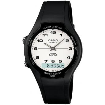 Montre Casio Résine Casio Collection AW-90H-7BVES - Homme