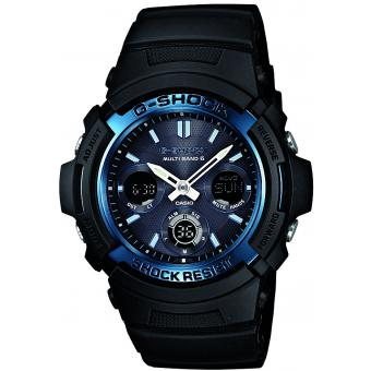 Casio - Montre Casio G-Shock AWG-M100A-1AER - Montre casio etanche