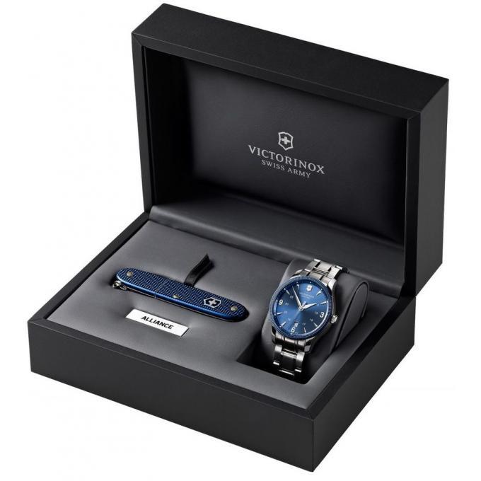 Montre Victorinox Alliance 241711 1 Montre Couteau Bleu