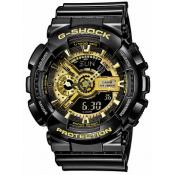 Casio - Montre Casio G-Shock GA-110GB-1AER - Montre Noire Homme
