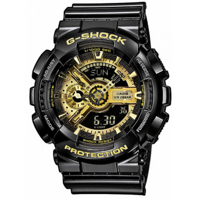 montre casio r sine g shock ga 110gb 1aer homme sur bijourama montre homme pas cher en ligne. Black Bedroom Furniture Sets. Home Design Ideas