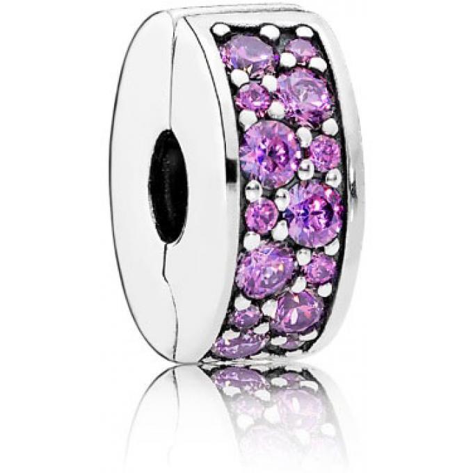 pandora clip violet