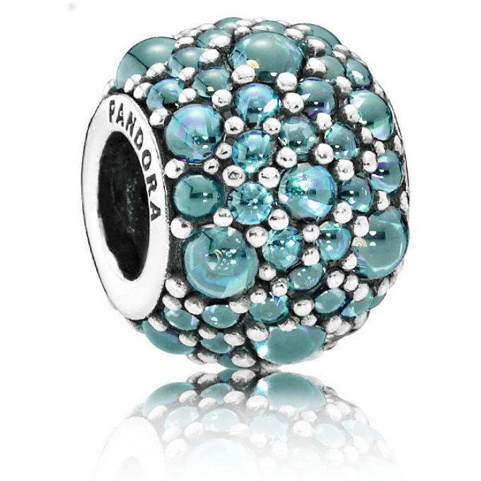charm pandora turquoise