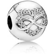 Charms Pandora Clip Coeur de l'Infini 791947CZ