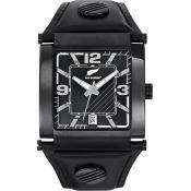 Montre All Blacks Montres Dateur Cuir Rectangulaire 680047 - Homme