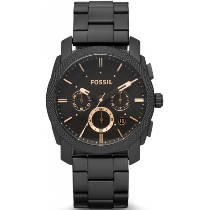 montre fossil acier fs4682 homme sur bijourama montre. Black Bedroom Furniture Sets. Home Design Ideas