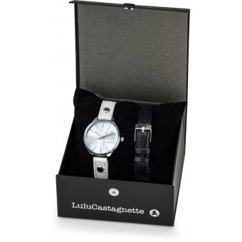 Coffret Montre Lulu Castagnette Lulu On The Beach CLC-01 - Montre Ronde Cuir Femme