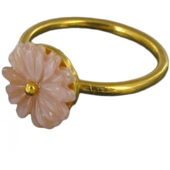 Bague Fleur rose wild - Corpus Christi