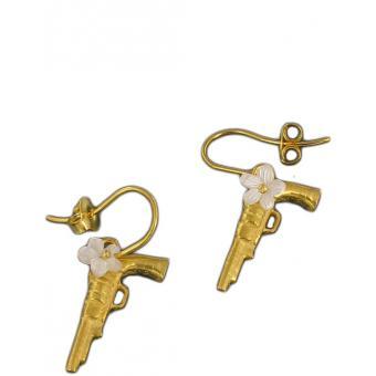 Boucles d'oreille Gun'N Fleur - Corpus Christi