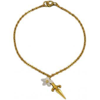 Bracelet Dagger and Flower - Corpus Christi