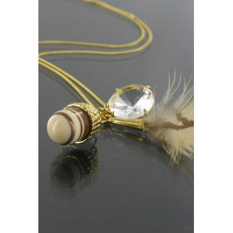 Long pendentif Gland - Les Bijoux De Sophie