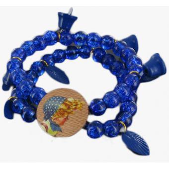 Bracelet Bleu Heidi