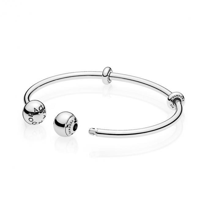 Pandora Bracelet Jonc Coeur Lumineux | IUCN Water