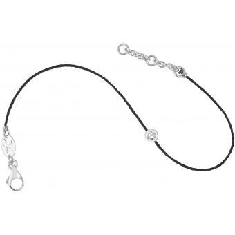 Bracelet Identity Fil Noir Rond - Vanessa Tugendhaft