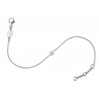 Bracelet Identity Rond Or Blanc - Vanessa Tugendhaft