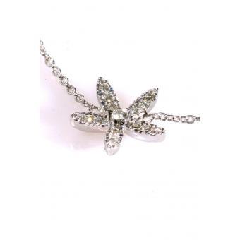 Bracelet Fleur d'Edelweiss Or blanc - Corpus Christi