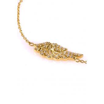 Bracelet Aile d'Ange Or jaune - Corpus Christi