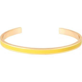Bracelet Bangle Up Bangle BUP03-BAN-BAO51 - Bracelet Email Jaune Or Femme