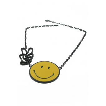 collier smiley world  - N2