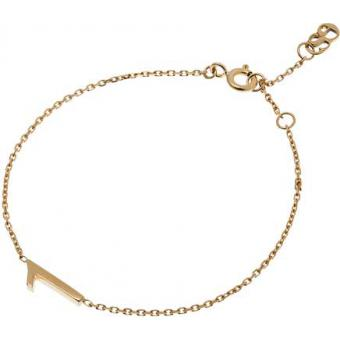 Bracelet Gold Number 1 or - Second Effect