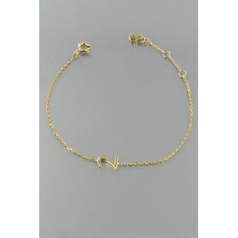 Bracelet Gold Number 2 or - Second Effect