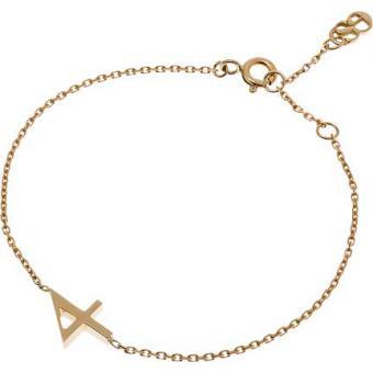 Bracelet Gold Number 4 or - Second Effect