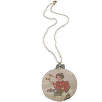 Collier Boule de Neige petite fille - N2