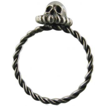 Bague Skull Torsade - Corpus Christi