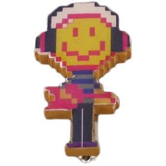 Broche Smiley Pixel - N2