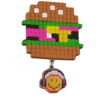 Broche Smiley Pixel mini - N2