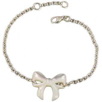 Bracelet Noeud blanc - Laure Devèze