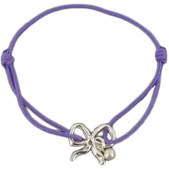 Bracelet cordon petit noeud - Marie-Laure T